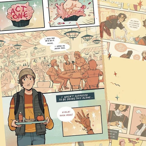 Shakespeare YA Graphic Novels - Twelfth Grade Night and King Cheer