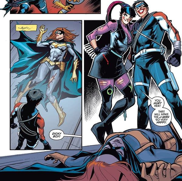Which Came First? Batgirl #47, Nightwing #72 or Batman #95?