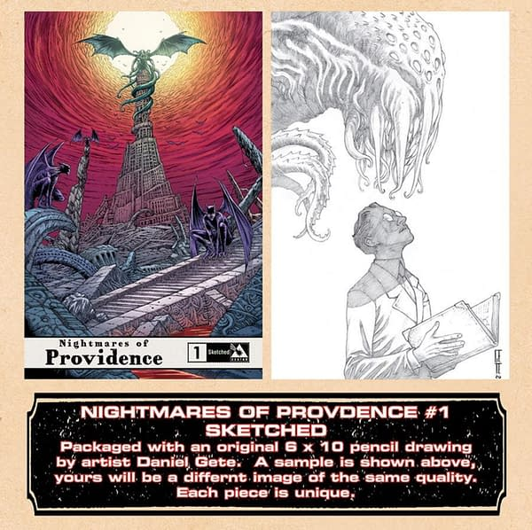 Alan Moore's Complete Providence Compendium, Order Now