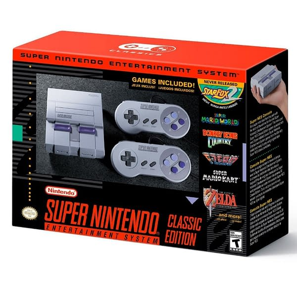 Nintendo To Put Super NES Classic Edition Up For Pre-Order In August