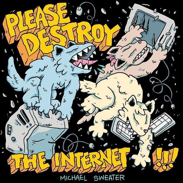 Silver Sprocket Please Destroy The Internet