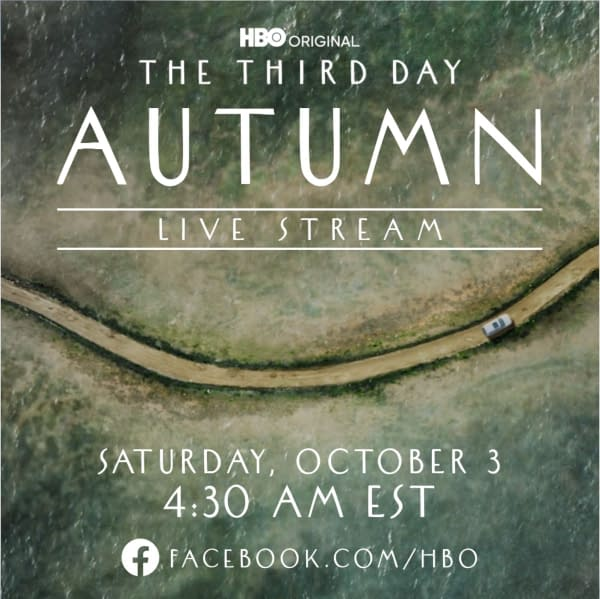 The Third Day Autumn Livestream key art (Image: HBO)