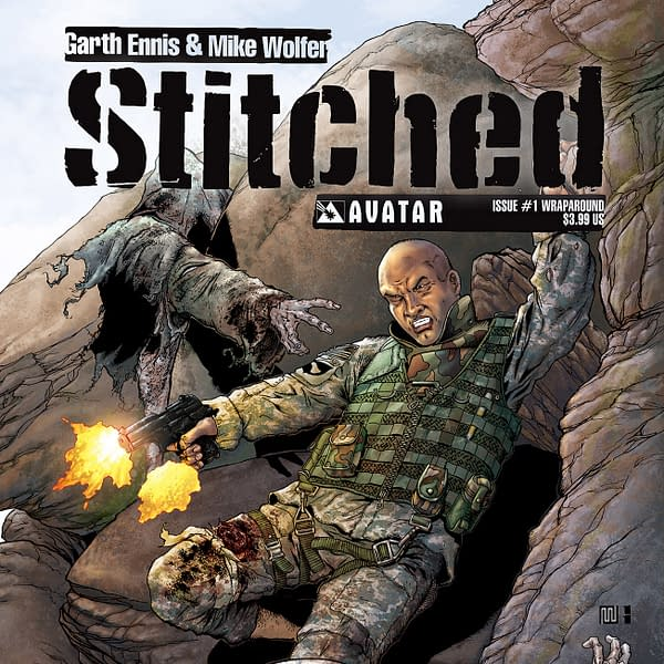 Garth Ennis And Mike Wolfer Talk Stitched