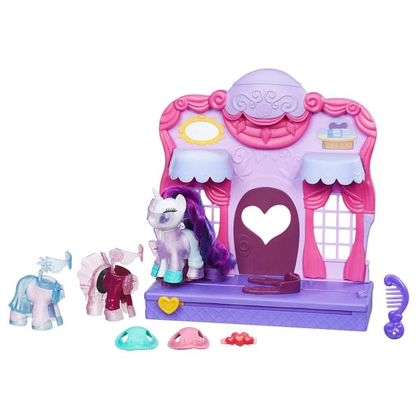GIVEAWAY! Win A My Little Pony Friendship Is Magic Rarity Fashion Runway Playset From Hasbro!