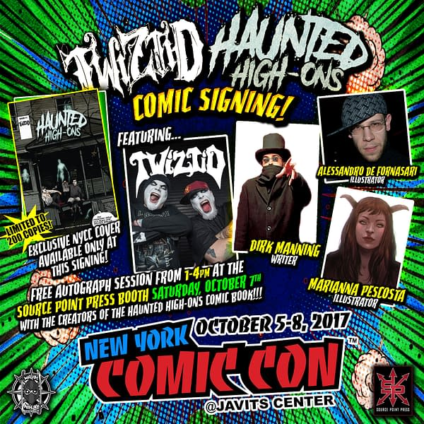 Who You Gonna Call? Twiztid: Haunted High-Ons Comic To Debut At New York Comic Con