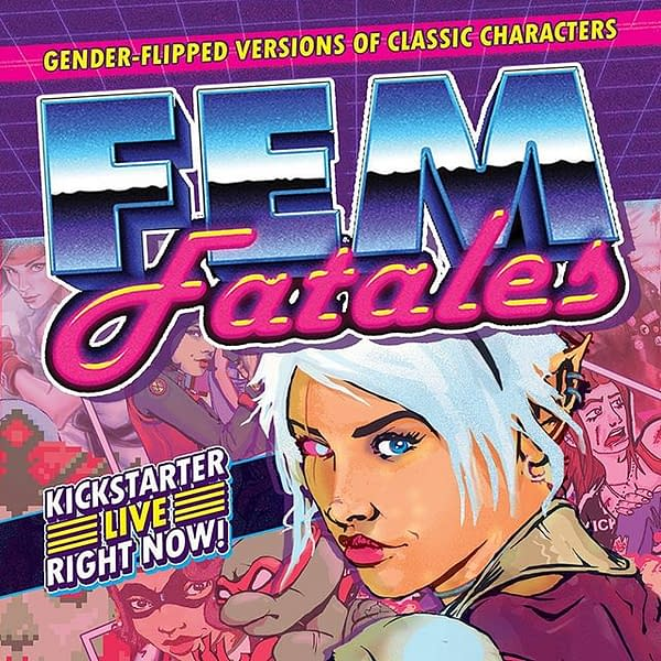 Thought Bubble Debut: Gender-Flipped 'Fem Fatales' For A Good Cause