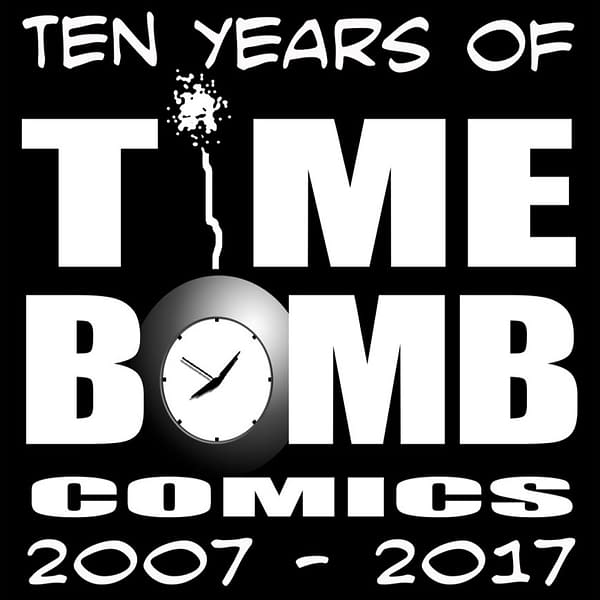 Celebrate Ten Years Of Time Bomb Comics
