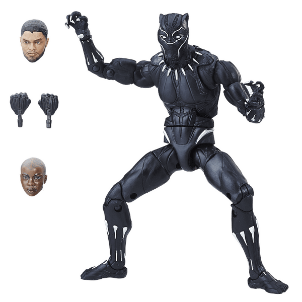 Black Panther Gets A Wave Of Magnificent Marvel Legends Figures