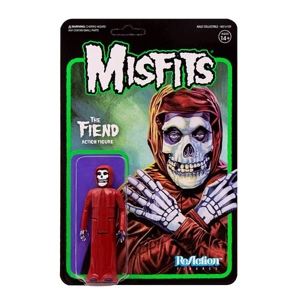 Misfits Fan? You Will Want To Be On The Super7 Store On Halloween