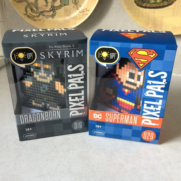 Two Random Items From Pixel Pals: Dragonborn Meets Superman