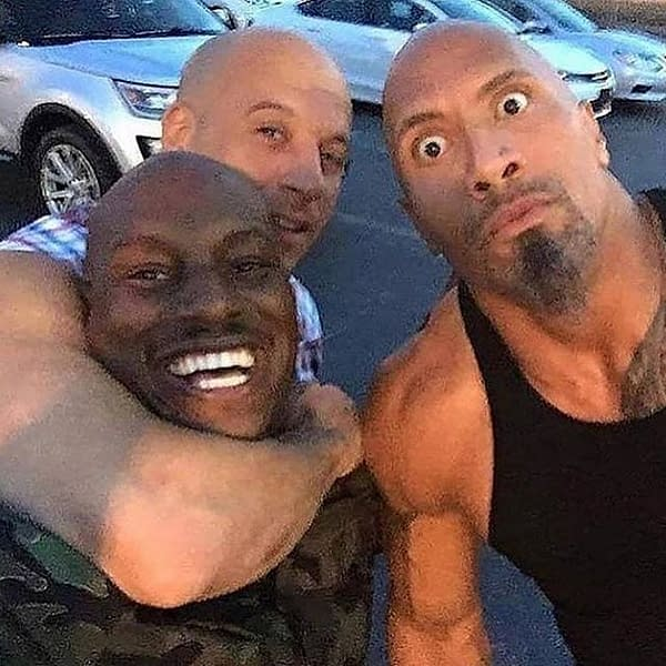 Tyrese Gibson On Fast & Furious 9: It's Me Or The Rock