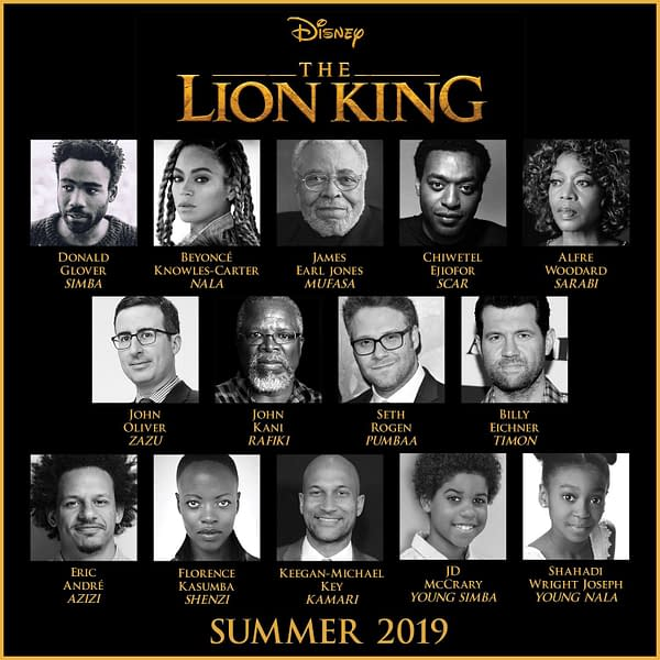 First Trailer for Jon Favreau's Live-Action 'The Lion King' Is Here