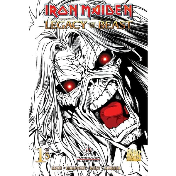 Forbidden Planet's Best-Selling Comic This Week Won't Be Batman, But Iron Maiden #1