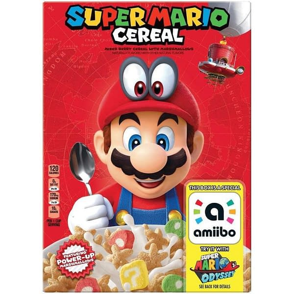 Super Mario Cereal Looks To Be Coming With Amiibo Support… Wait, What?