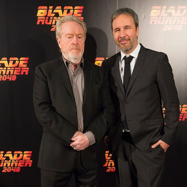 "Sir Ridley Scott: ""Blade Runner 2049 Bombed Because It Was Too Long"""