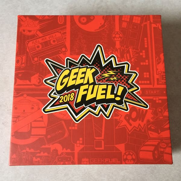 What's In The Box?! Geek Fuel – January 2018