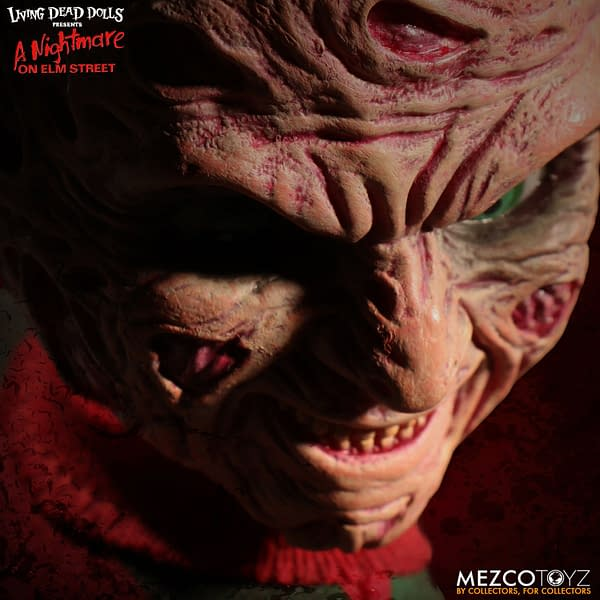 Freddy Krueger Becomes the First Talking Living Dead Doll from Mezco!
