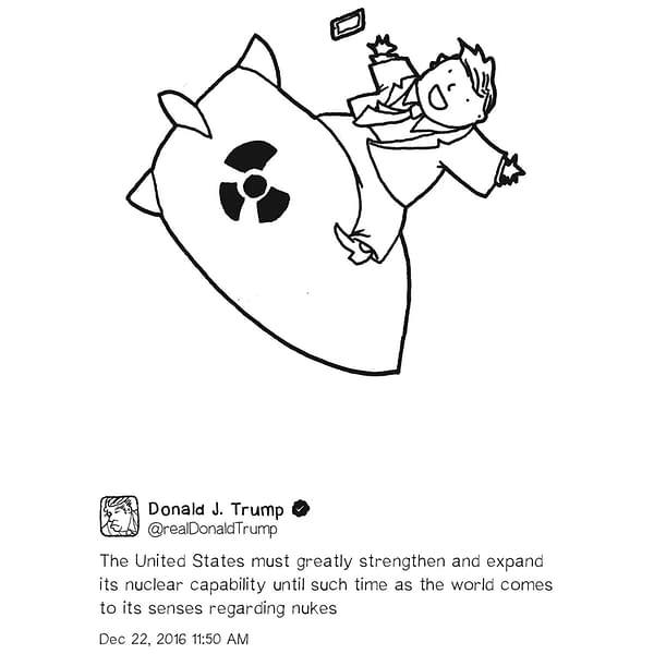 Shannon Wheeler's Exhibition of Trump Cartoons, Across From Mar-A-Lago
