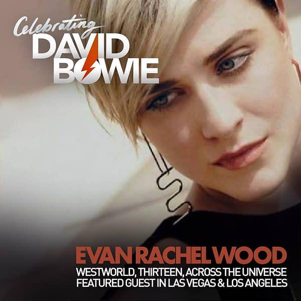 Evan Rachel Wood Joins 2018 Celebrating David Bowie Tour