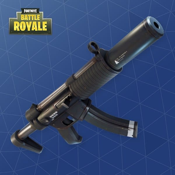 Epic Games Is Removing The SMG From Fortnite