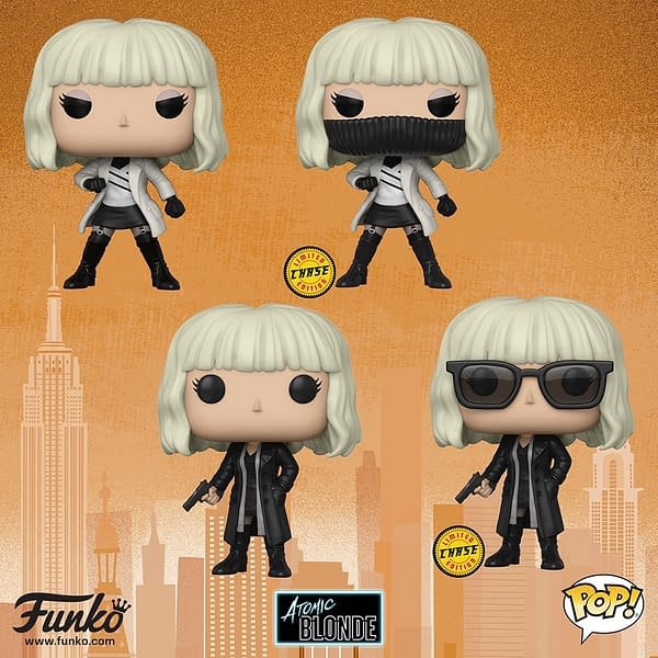 Funko Toy Fair Reveals Part 3: Mister Rogers, Bendy, Overwatch, Weird Al, and Atomic Blonde!