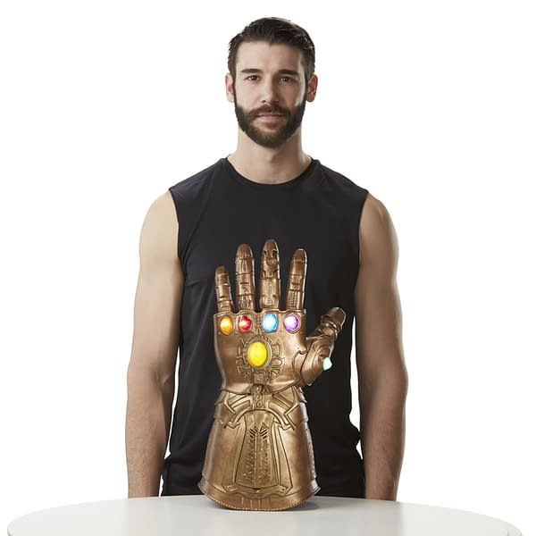 Hasbro Reveals a Wearable Infinity Gauntlet From Marvel Legends