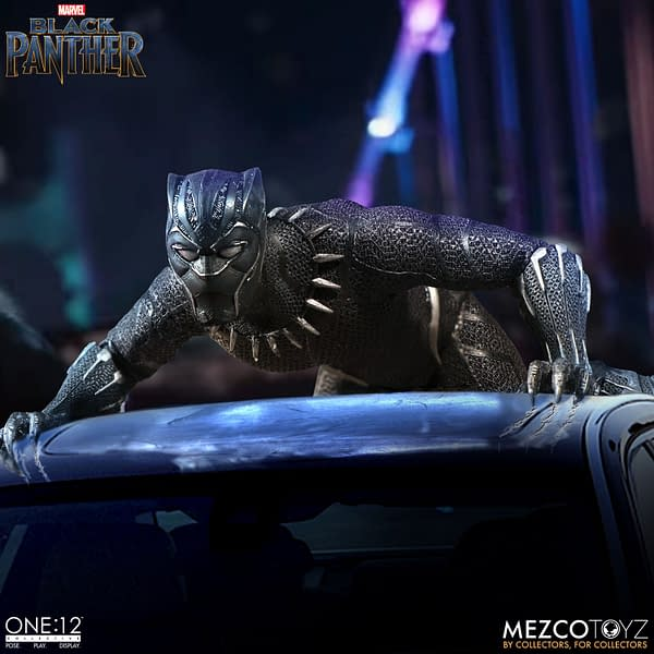 Black Panther Coming in Fall from Mezco's One:12 Collective