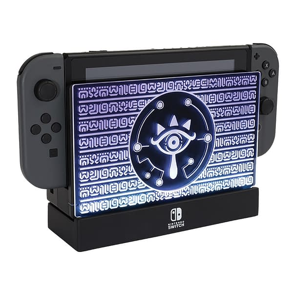 Decorating my Nintendo Switch: We Review PDP's Light Up Dock Shield