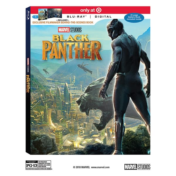 Target Already Has Black Panther Blu-Ray Listed; So Does Best Buy