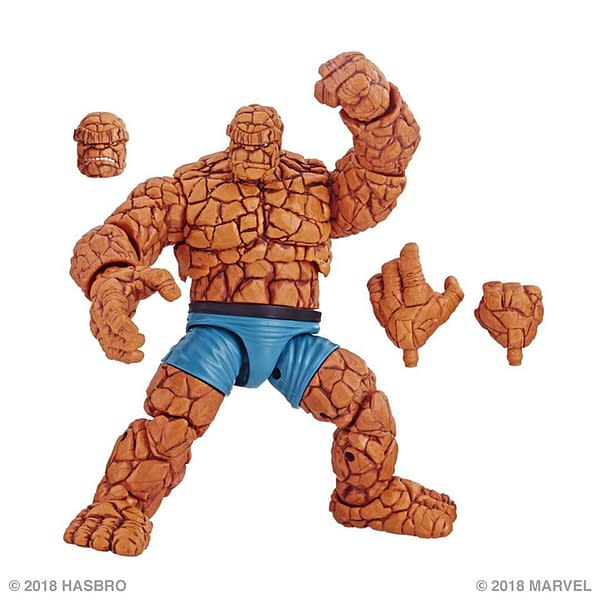 Marvel Legends The Thing Will Complete the Fantastic Four Soon