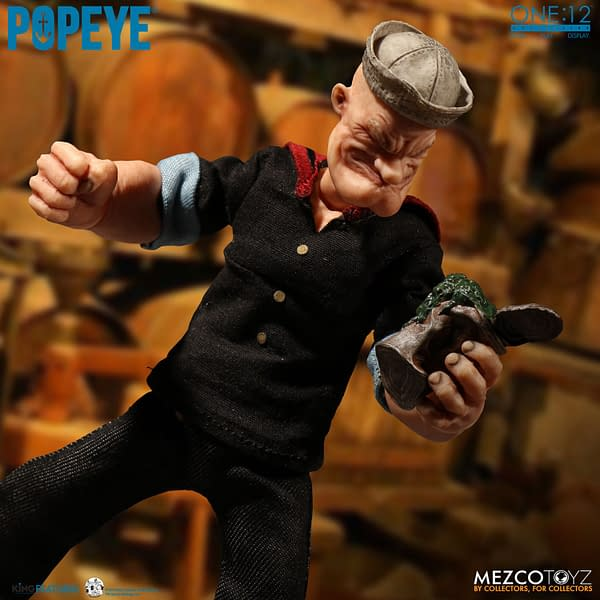 Popeye Gets His Due from One:12 Collective with New Figure