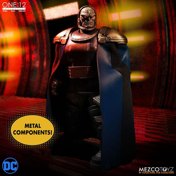 Darkseid Has Come To Rule Over The Mezco One:12 Collective Line
