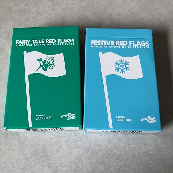 Getting a Few More Red Flags Packs from PAX East