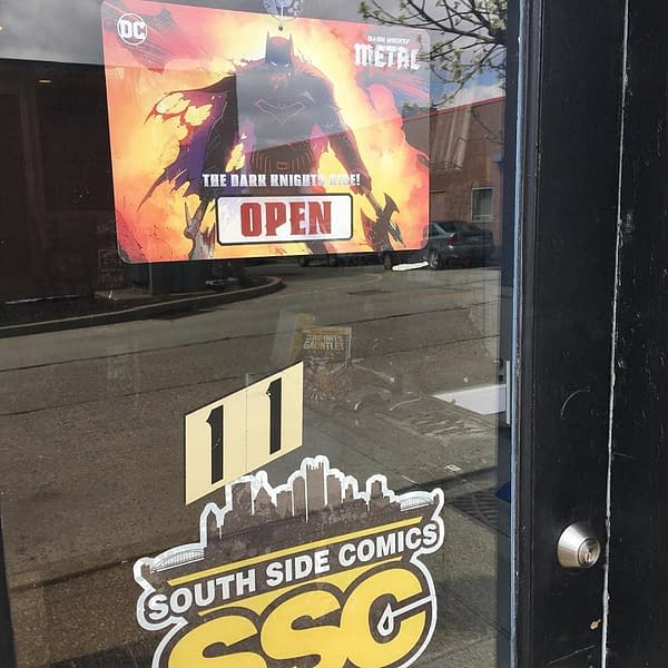South Side Comics Reopens In Pittsburgh
