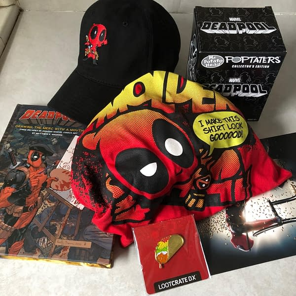 What's In The Box?!: Loot Crate DX – May 2018