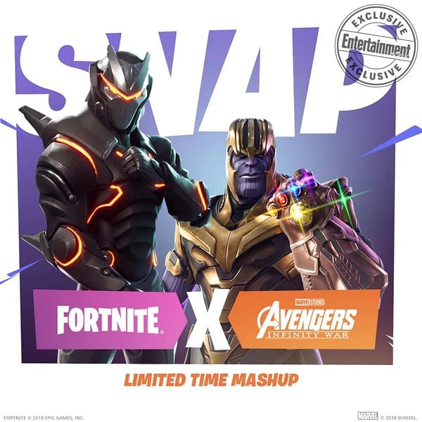 Thanos is Coming to Fortnite for a Limited Event