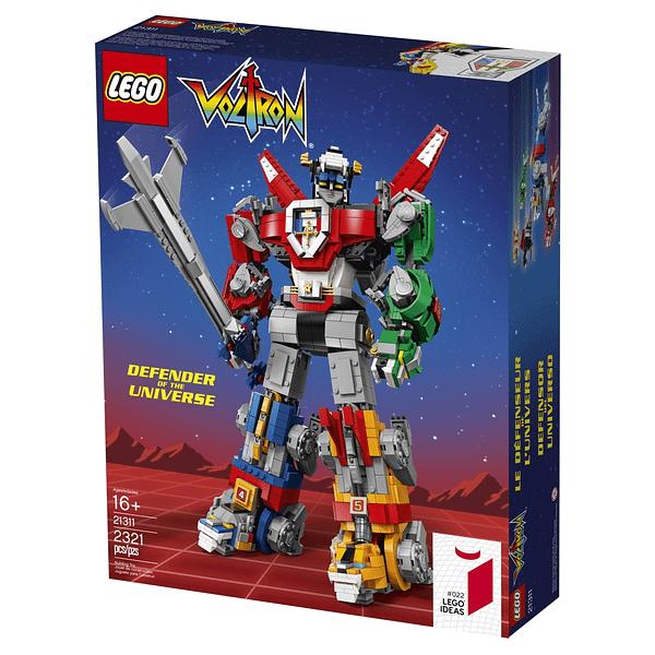 LEGO Ideas Voltron Set 16