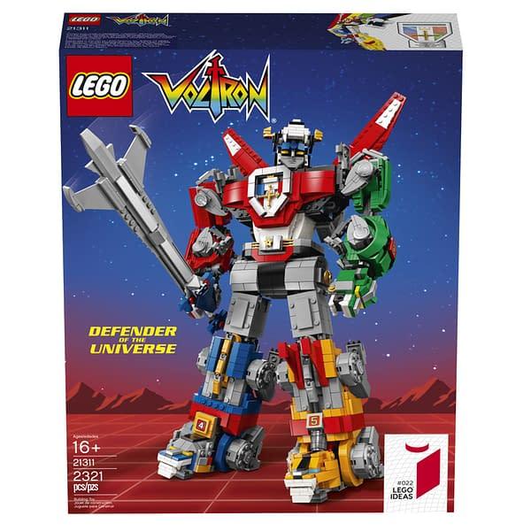 LEGO Ideas Voltron Set 18