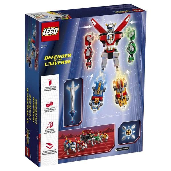 LEGO Ideas Voltron Set 19