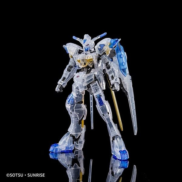 Bandai Gundam Bael (Clear Color) SDCC