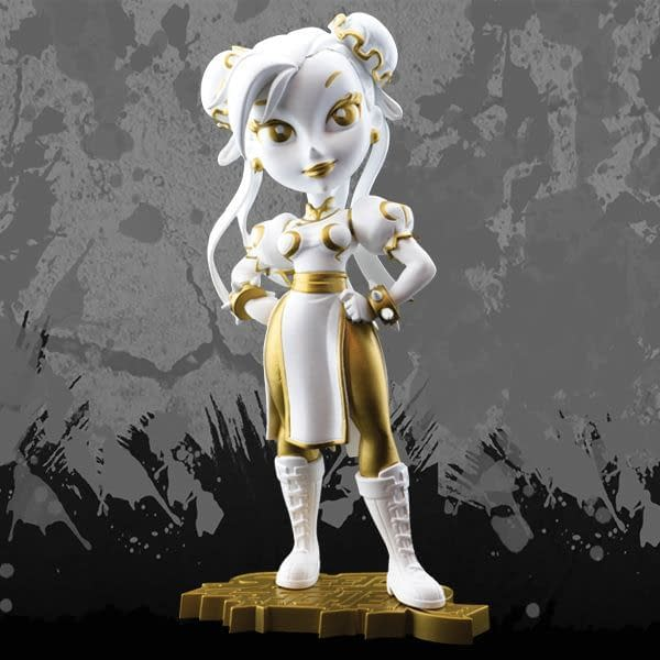 Cryptozoic Golden Goddess Chun-Li Street Fighter Knockouts Vinyl Figure