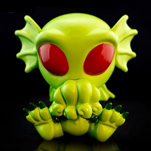 Cryptozoic Irradiated Cthulhu Cryptkins Vinyl Figure