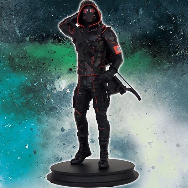 DC Arrow TV Crisis on Earth X Dark Arrow Scale Statue SDCC Icon Heroes