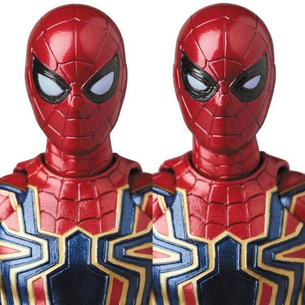 MAFEX Iron Spidey Infinity War 10