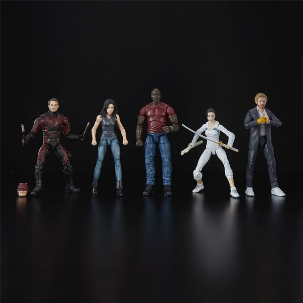 MARVEL LEGENDS SERIES DEFENDERS RAIL AUTHORITY 5-PACK - oop