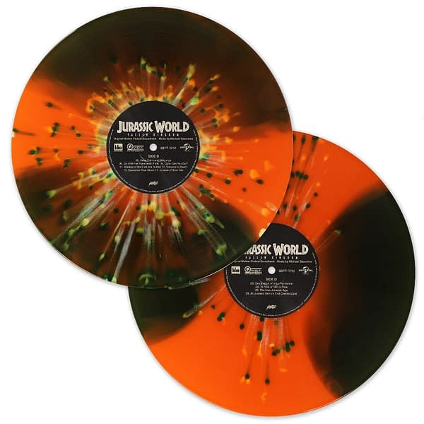 Mondo Vinyl Soundtrack Jurassic World Fallen Kingdom Soundtrack 2