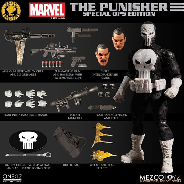 One 12 Collective Punisher Special Ops SDCC Exclusive 13
