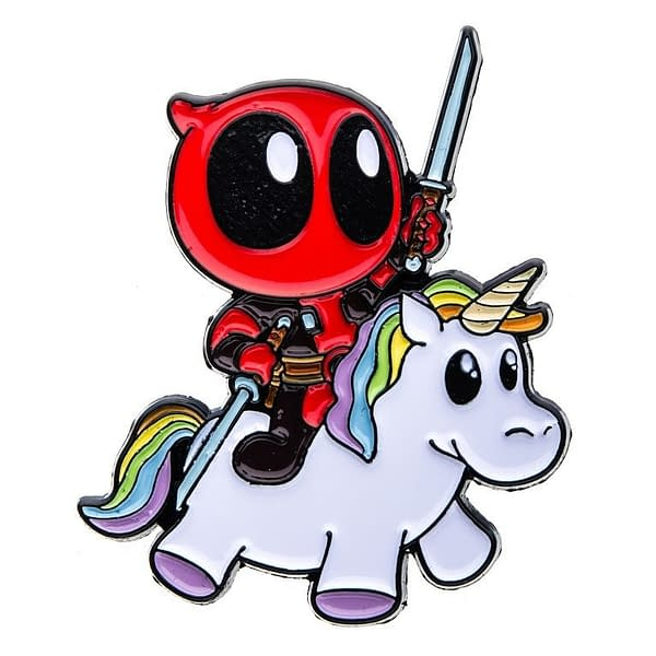 deadpool Unicorn Pin SDCC