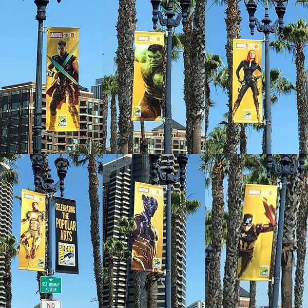 It's Beginning to Look a Lot Like Comic Con: SDCC Moves In