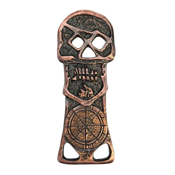 Factory Entertainment Goonies Copper Bones Skeleton Key Bottle Opener SDCC Exclusive